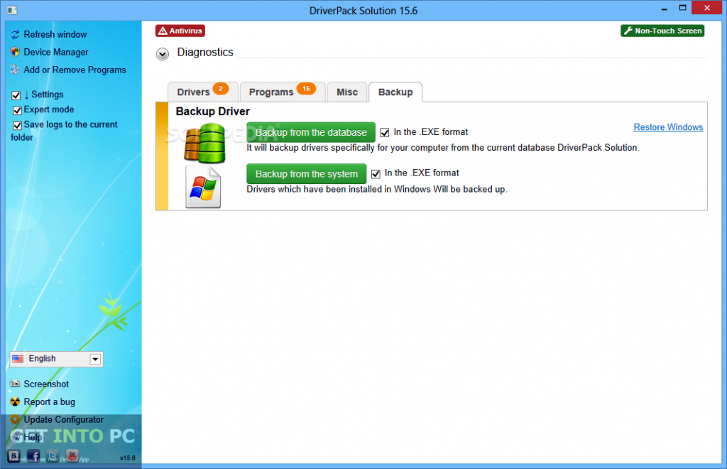 Driverpack Solution 15 Latest Version Download 1024x660
